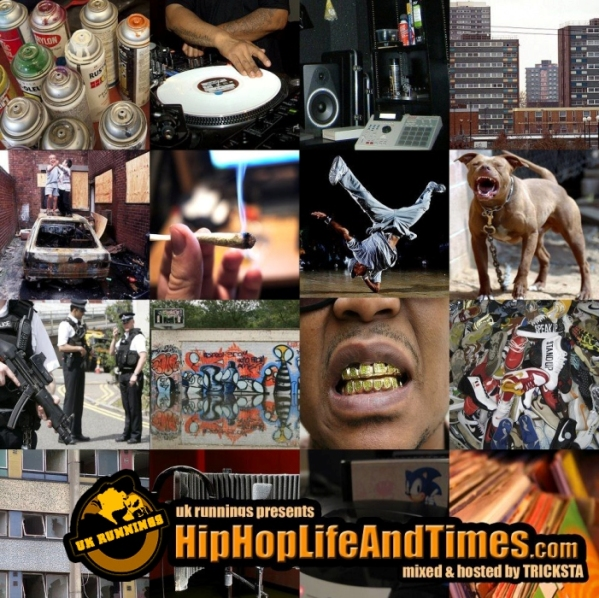 UK Runnings Presents HipHopLifeAndTimes_com - Vol 1 - front